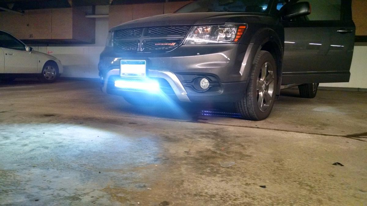 LED Off Road Light Bar Install Glass Lighting Mirrors
