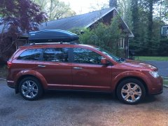 Journey with Mopar/Thule Roof Carrier