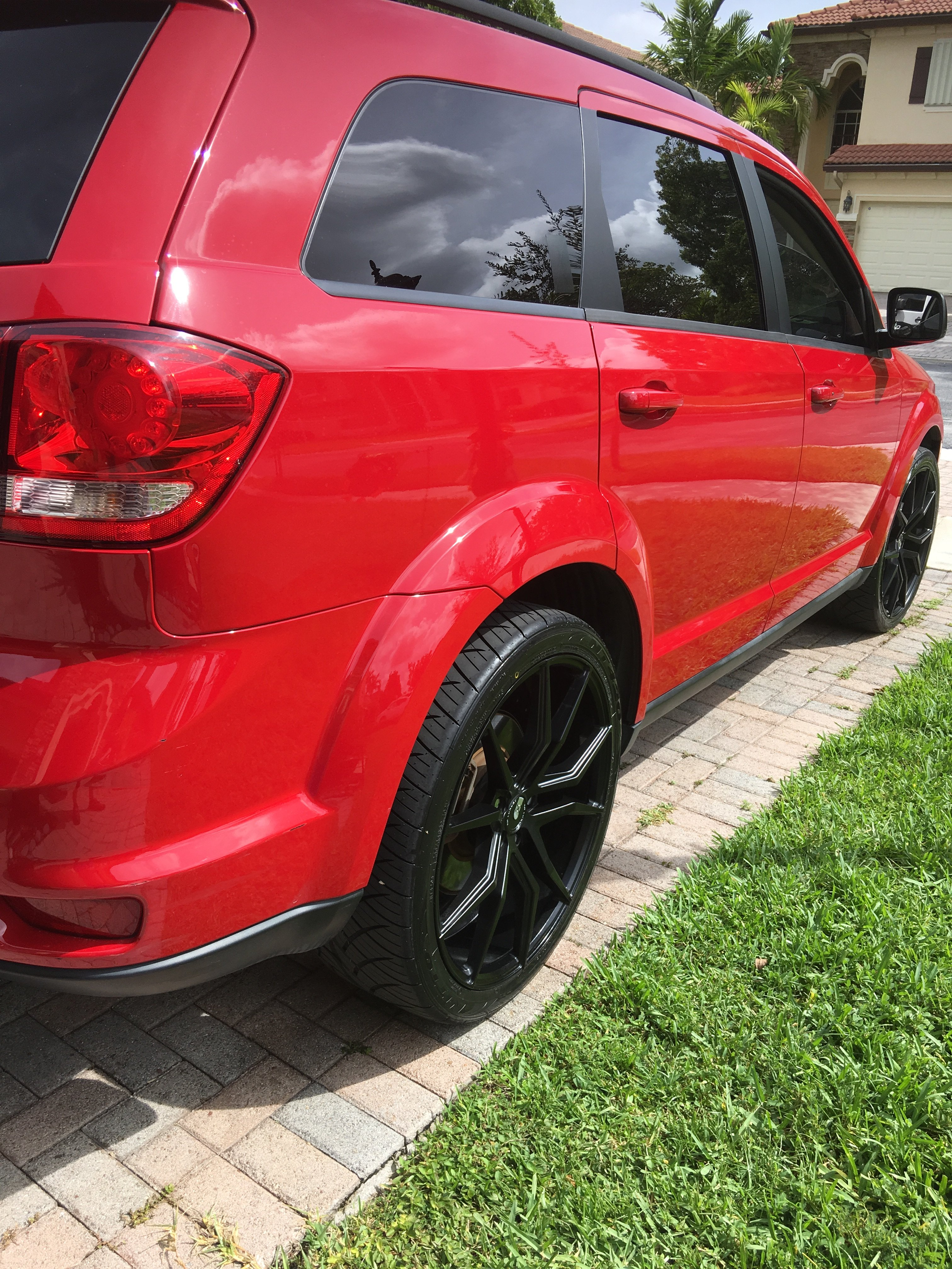 """Dodge Journey on 22"""" - Accessories, Modifications - Dodge ..."""