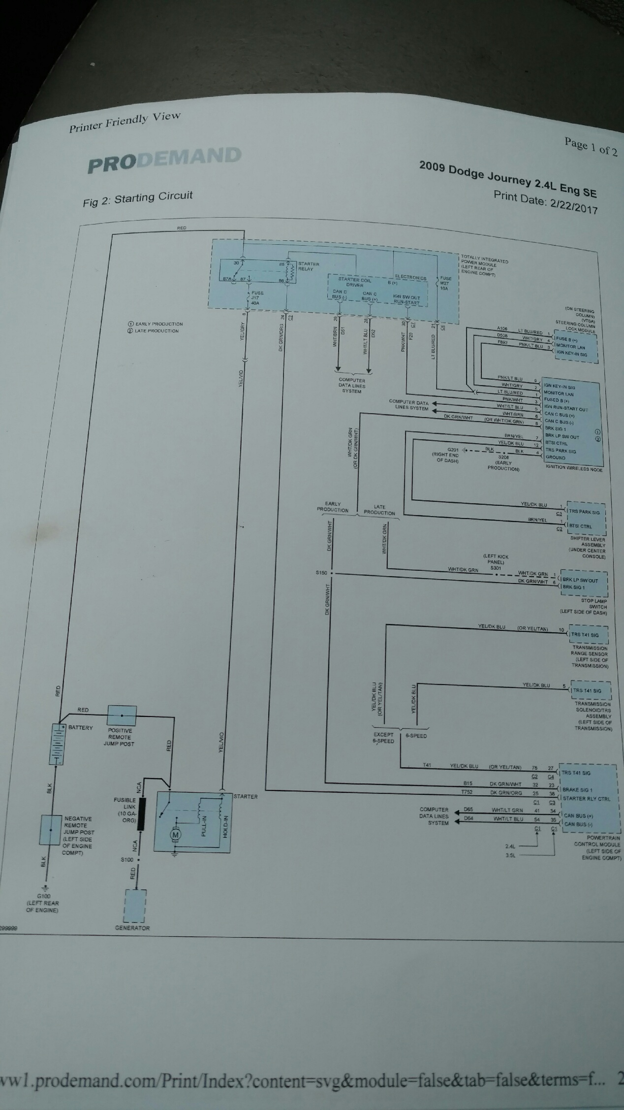 2009 Journey 2 4 Alternator Overheating Electrical, Battery Lucas  Alternator Diagram 2009 Dodge Journey Alternator Diagram